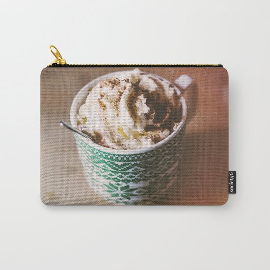 Whipped Cream Hot Chocolate Carry-All Pouch