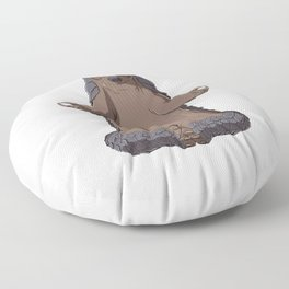 Pangolin Meditate Floor Pillow
