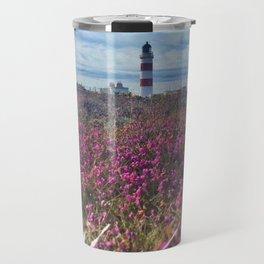 Lighthouse - paint graphic Travel Mug
