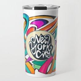 NYC Street Art Travel Mug