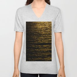 The Goldsoundwaves Unisex V-Neck