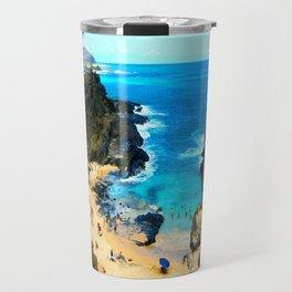 Halona Cove V ... By LadyShalene Travel Mug