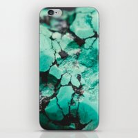 turquoise iPhone & iPod Skins featuring Turquoise  by Laura Ruth