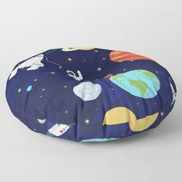 In space Floor Pillow