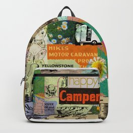 RETRO CAMPING COLLAGE Backpack