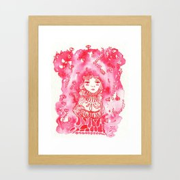 Rosy Framed Art Print