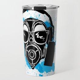 Dubstep gas mask Travel Mug