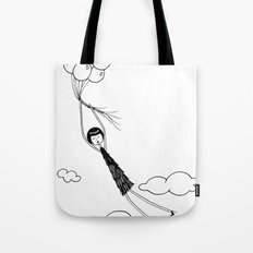 In the air Tote Bag