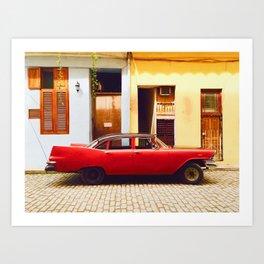 Havana in style Art Print