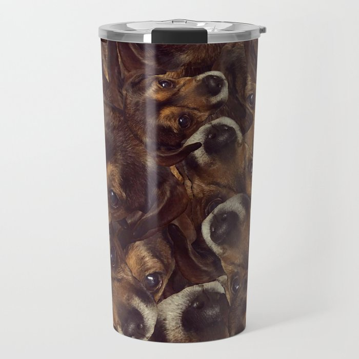 Borker Collage v2 Travel Mug