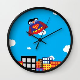 Pengwin that is Super Wall Clock
