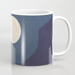 The Mountains At Night Coffee Mug
