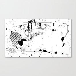 SPLIT #4 Canvas Print