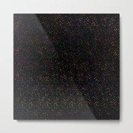 Rainbow dots Metal Print