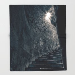 Stairway to Heathens Throw Blanket