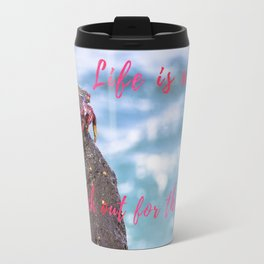 Life is a beach... Travel Mug
