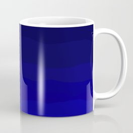 Deep Rich Sapphire Ombre Coffee Mug