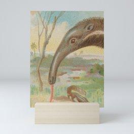 Vintage Anteater Illustration (1888) Mini Art Print