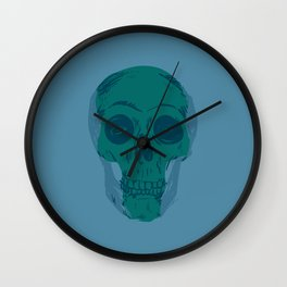 Skullterior Motives Wall Clock