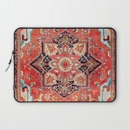 Heriz Azerbaijan Northwest Persian Rug Print Laptop Sleeve