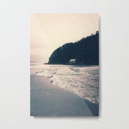 The Boathouse Metal Print