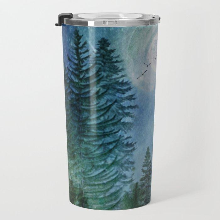 Silent Forest Travel Mug