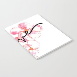 """Plumeria Love - A Romantic way to say, """"I Love You"""" Notebook"""