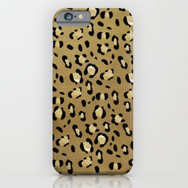 Leopard Animal Print Glam #1 #pattern #decor #art #society6 iPhone Case