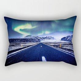 Road to Aurora Rectangular Pillow