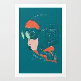 Volador Art Print