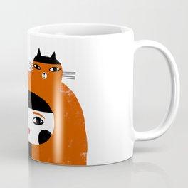 ORANGE LONG HAIR Coffee Mug