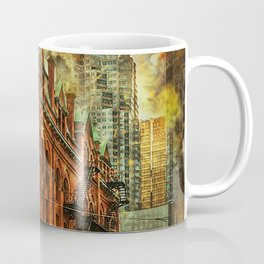 Flat Iron Building Architecture Coffee Mug