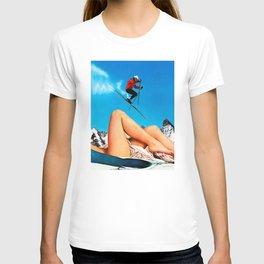 Skiing Time T-shirt