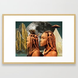 Ancient Earth Keepers Framed Art Print