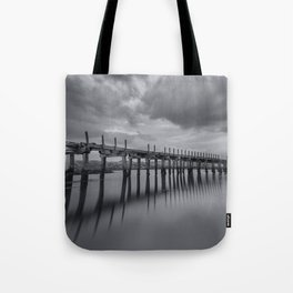 The old Wooden Bridge Tote Bag