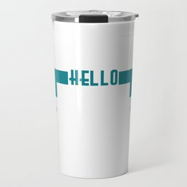 "Simple and nice tee design perfect gift this seasons of giving. Grab this ""Hello spring"" tee now!  Travel Mug"