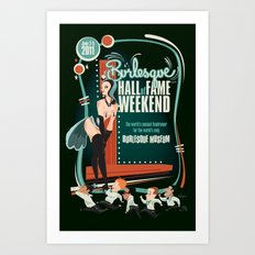 Burlesque Hall of Fame Weekend 2011 by Ragnar Art Print