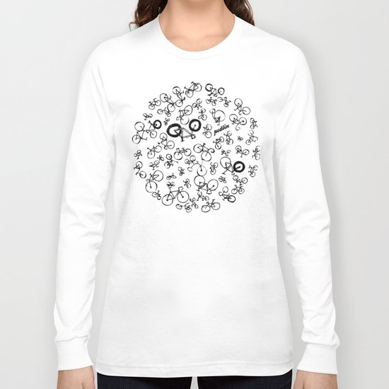 Bicycle World Long Sleeve T-shirt