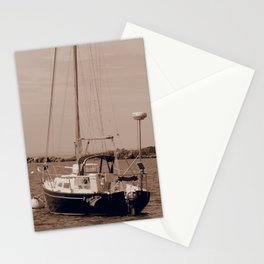 Sailing on the high seas Stationery Cards