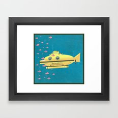 Jacqueline (The Life Aquatic) Framed Art Print