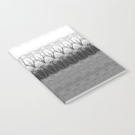 Loom: Black and White, November Trees Notebook