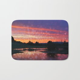 Boise Sunset Bath Mat