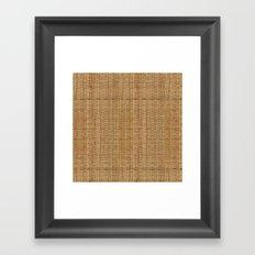 Wicker  Framed Art Print