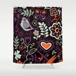 Seamless pattern can be used for wallpaper, pattern fills, web page background,surface textures. Gor Shower Curtain