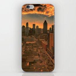 Montreal Skyline iPhone Skin