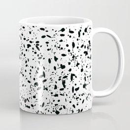 Black and white ink pattern Coffee Mug