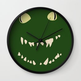 Derpy Croc Wall Clock