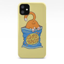 Cheese Balls iPhone Case