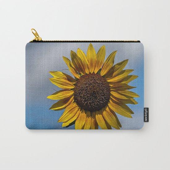 Sun's Flower Carry-All Pouch