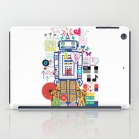 coldplay iPad Cases featuring we live in a beautiful world by Giulia De grazi
